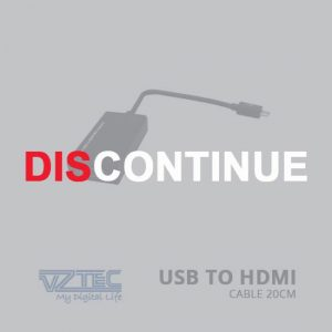 jual VZTEC USB to HDMI Cable 20cm