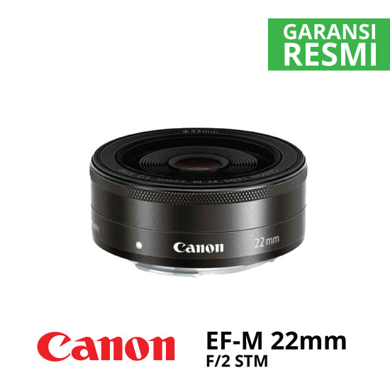 jual Canon EF-M 22mm f/2 STM