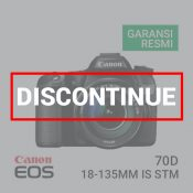 Canon EOS 70D Kit EF-S18-135 IS STM built-in Wifi