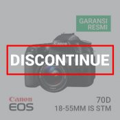 Canon EOS 70D Kit EF-S18-55 IS STM built-in Wifi