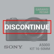 Sony A5000 Kit 16-50mm Black f-3.5-5.6 OSS discontinue
