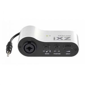 TASCAM IXZ Mic & Guitar Interface For Iphone/Ipad