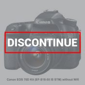 Canon EOS 70D Kit EF-S18-55 IS STM without Wifi