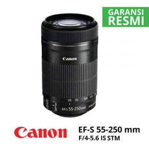 jual Canon EF-S 55-250mm f/4-5.6 IS STM