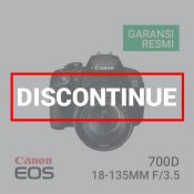 Canon EOS 700D Kit EF-S 18-135mm IS STM