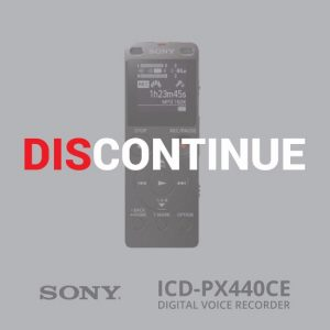 Sony ICD-PX440//CE 4GB MP3 Digital Voice IC Recorder