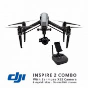 Jual DJI Inspire 2 with Zenmuse X5S & AppleProRes - CinemaDNG License