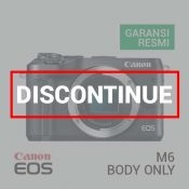 Jual Canon EOS M6 Body Only Black