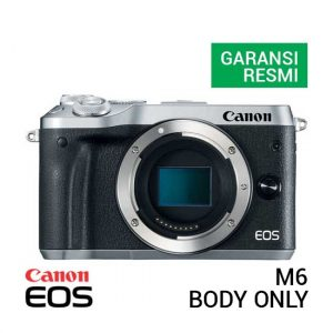 Canon EOS M6 Body Only Silver