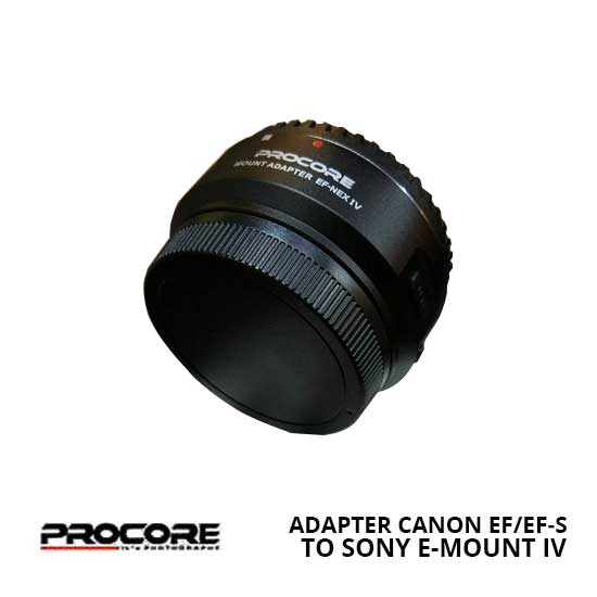 Jual Procore Mount Adapter Canon EFEF-S to Sony E-Mount IV