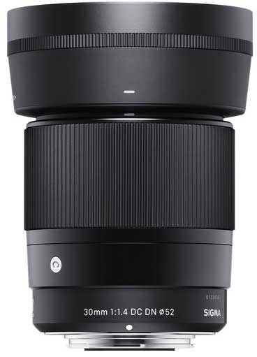 Jual Sigma 30mm F1.4 DC DN AF for Sony E-Mount Harga Terbaik